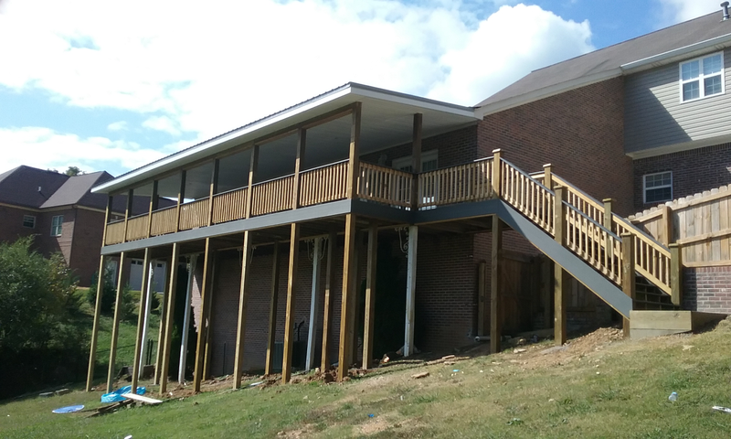 High Composite Deck, Chattanooga TN